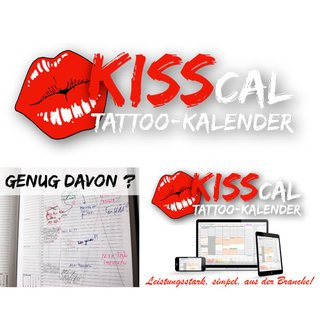 Kisscal Tattoo-Kalender