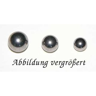 6mm Titankugel 1,6mm Gewinde