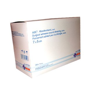 ABE - Wundverband, steril 7 x 5cm 100 Stück Packung